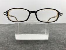 Jeff Banks Eyeglasses 3229 202 49-16-135 Flex-Hinge Black Yellow 9847