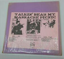 "Bob Dylan RARE! ""Talkin' Bear Mt. Massacre Picnic Blues"" BlueVinyl Bootleg 1970s"