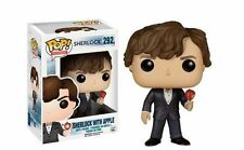 "Sherlock exclusiva Sherlock con Apple 3.75"" películas POP Vinilo Figura Funko 292"
