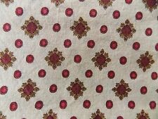 WtW Fabric Floral Matters of the Heart England SSI Medallion Pattern BTY Quilt