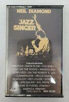 """NEIL DIAMOND """"The Jazz Singer"""" Cassette Tape 1980 Capitol #4XV-12120 Circa 1980"""