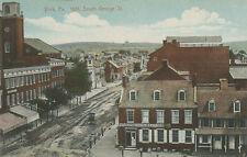 York PA * South George St. in 1861 * Unusual View  Civil War Era