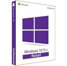MICROSOFT WINDOWS 10 PRO PROFESSIONAL 32/64 BITS✅GENUINE LICENSE ACTIVATION KEY