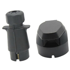 7 Pin Plug & Socket Towing Electrics Kit Plastic Trailer Caravan New