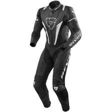 Combinaisons de motocyclette noirs Rev'it en cuir