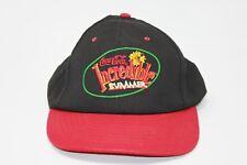 Vintage Coca Cola Incredible Summer Made in USA 90s Red Black Snapback Hat c67fa5af064