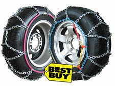 4X4 4WD Snow Chains size 390 fits 215/60 17, 215/65-16, 225/70-15, 225/55 17....