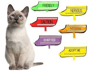 Cat Pet Coat Waterproof Reflective Fleece Lined One Size Adjustable Warm Cosy