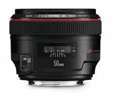 Canon EF Camera Prime Lens 50mm f/1.2 L USM STOCK IN UK