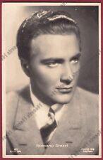 ROSSANO BRAZZI 10a ATTORE ACTOR CINEMA TEATRO MOVIE - BOLOGNA Cartolina v. 1943