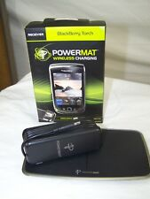 Powermat Blackberry Torch back cover and Charging Stations Wireless  Universal