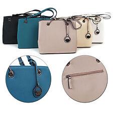 Damen Handtasche Henkeltasche Schultertasche  Umhängetasche Tasche Farbauswahl