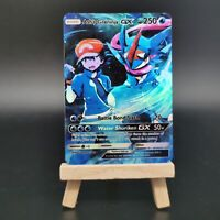 Ash's Greninja GX - Custom Pokemon Card - Quajutsu - Amphinobi - Pokémon Orica