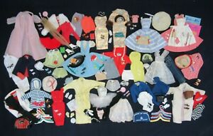 AUCTION Vintage BARBIE - Large Lot - Early Outfits Clothing Shoes Accessories #1