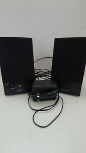 Creative Labs SBS250 2 Piece Computer Speaker set with Power Cord TESTED & WORKS