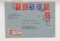 Bizone/AM-Post, Mi. 9/Paar, 1, MiF 917 (4), R-Bonn 1, 7-.9.46