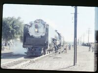 1972 35mm photo slide Railroad train Union Pacific 8444  RR72