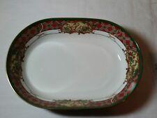 Used Once Royal Hunt Noritake China Royal Hunt Oval Serving Dish Christmas