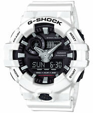 Casio G-SHOCK GA700-7A White/Black Analog Digital 200m Men's Watch