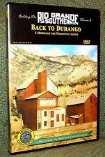 "20035 MODEL RAILROAD VIDEO DVD ""BUILDING THE RGS #8"" DURANGO"
