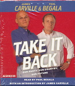 Audio book - Take It Back by James Carville and Paul Begala   -   CD   -   Abr