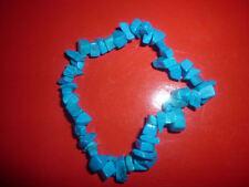 cristalloterapia BRACCIALE braccialetto HOWLITE BLU cristallo pietra rilassante