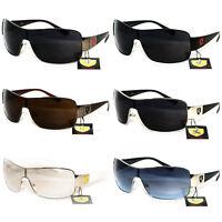 New Fashion Shield Sunglasses Sports Khan Mens Womens Driving Trend Biker Shades