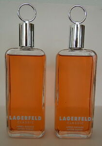 LAGERFELD CLASSIC AS After Shave  250 ml = 2 X 125ml  NEU TOP ANGEBOT SELTEN