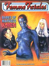 Femme Fatales Magazine: MYSTIQUE &  WOMEN OF MARVEL'S X-MEN  VOL. 9 #2