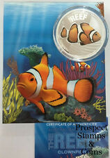 2010 Australian Sea Life Series Clownfish 1/2oz Silver Proof Coin