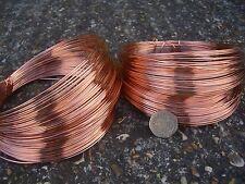Cuivre plaqué fil diamètre 1.2mm 16 gauge 27 mètres - 250 gram