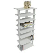 STACKED - 7 Tier Free Standing Storage Shelf - White SECONDS ST1820