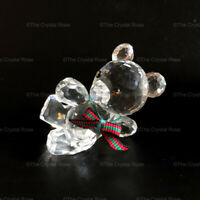 RARE Retired Swarovski Crystal Kris Bear Original Reclining Leaning 174957 Boxed
