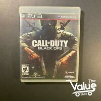 Call of Duty: Black Ops (Sony PlayStation 3, 2010) PS3