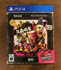 Rage 2 Sony PlayStation 4 PS4 EB Exclusive Wingstick Factory Sealed NEW BNIB