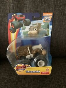 Fisher Price Blaze and the Monster Machines Gasquatch Die-Cast Toy Vehicle