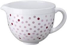 5KSMCB5NPD Accessorio KitchenAid Ciotola Ceramica 4,8lt POIS Rosa