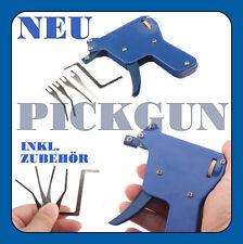 WOW 5 tlg. Pickgun Pick gun Lock Schloss knacken Dietrich pickset tür Öffner