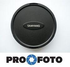 SAMYANG LENS CAP for Samyang 7,5MM & 8MM / F2,8 & 8MM / T3,1