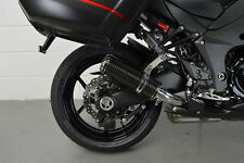 Z1000SX Touring 10-16 SP Engineering Carbon Fibre Stubby Domed GP Exhausts