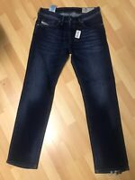 NWD Mens Diesel WAYKEE STRETCH Denim R86L0 DARK BLUE STRAIGHT W31 L31 H7 RRP£160