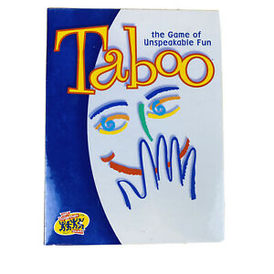 VTG TABOO Unspeakable Fun Board Game Year 2000 Edition New Sealed Adult Party