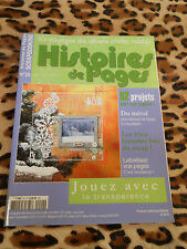 HISTOIRES DE PAGES, magazine des albums photos créatifs n°20, 2008-Scrapbooking