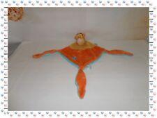 ♪ - Doudou Semi Plat Tigrou Orange Jaune Bleu Fleur Disney Simba Dickie Nicotoy