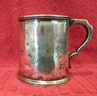 Hayden & Whilden Southern Coin Silver Cup, Charleston, South Carolina 1855-1863
