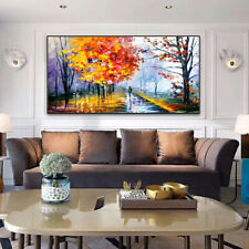 "SS217 Home decor art Large 48""100% Hand-painted Scenery oil painting Unframed"