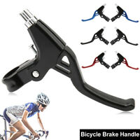 2 x Aluminum Alloy MTB Bicycle BMX Road Bike Handle Hand V Bar Brake Lever New