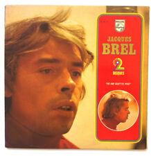 Jacques BREL Succès en 2 Disques Ne Me Quitte Pas Double LP VINYL 33 T 6641 128