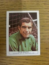 1970 Trade Card: Footballers) Leicester City - Peter Shilton [Naisco Foods LTD C
