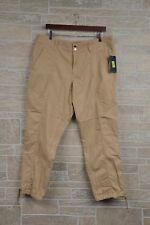 Lauren Ralph Lauren 14W Women's Pale Wheat Cotton Utility Pants